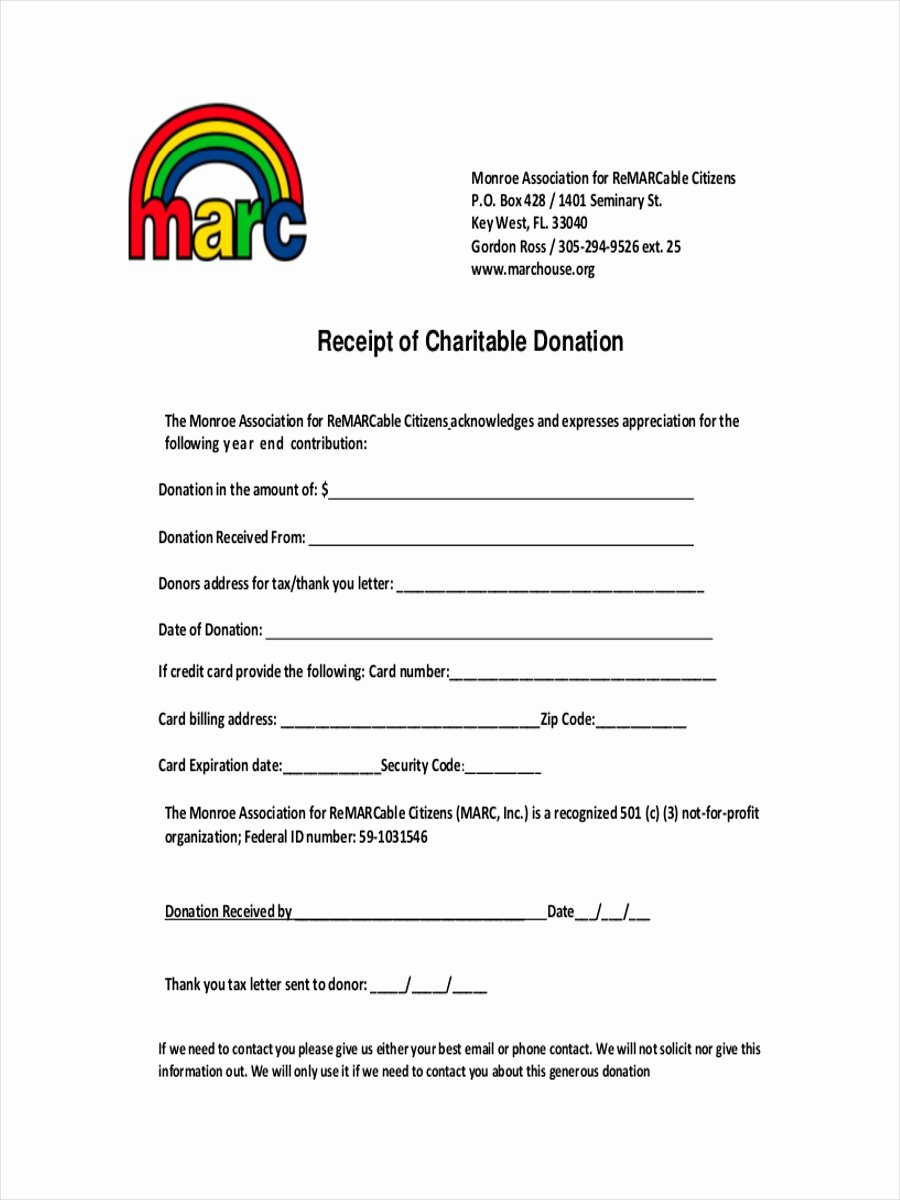 Non Cash Donation Receipt Template Inspirational Ultimate Guide to the Donation Receipt 7 Must Haves & 6