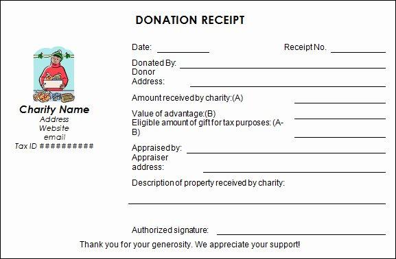 Non Profit Donation Receipt Template Beautiful 16 Donation Receipt Template Samples