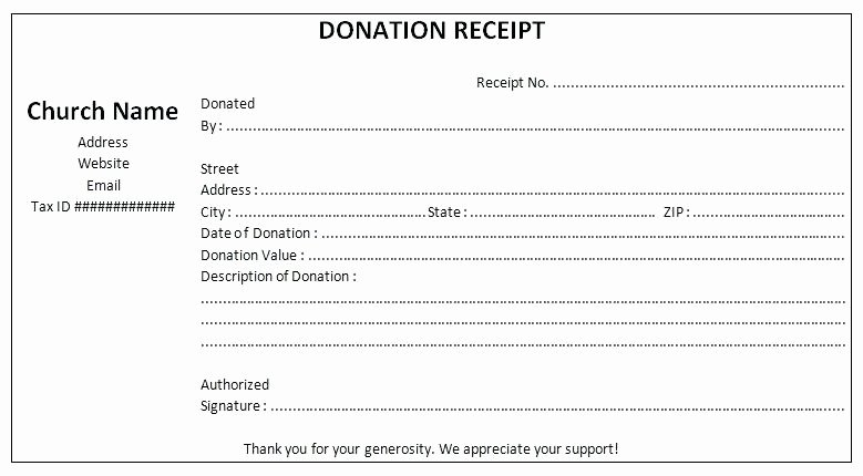 Non Profit Donation Receipt Template Beautiful Non Profit Contribution Receipt Template Gift Non Profit
