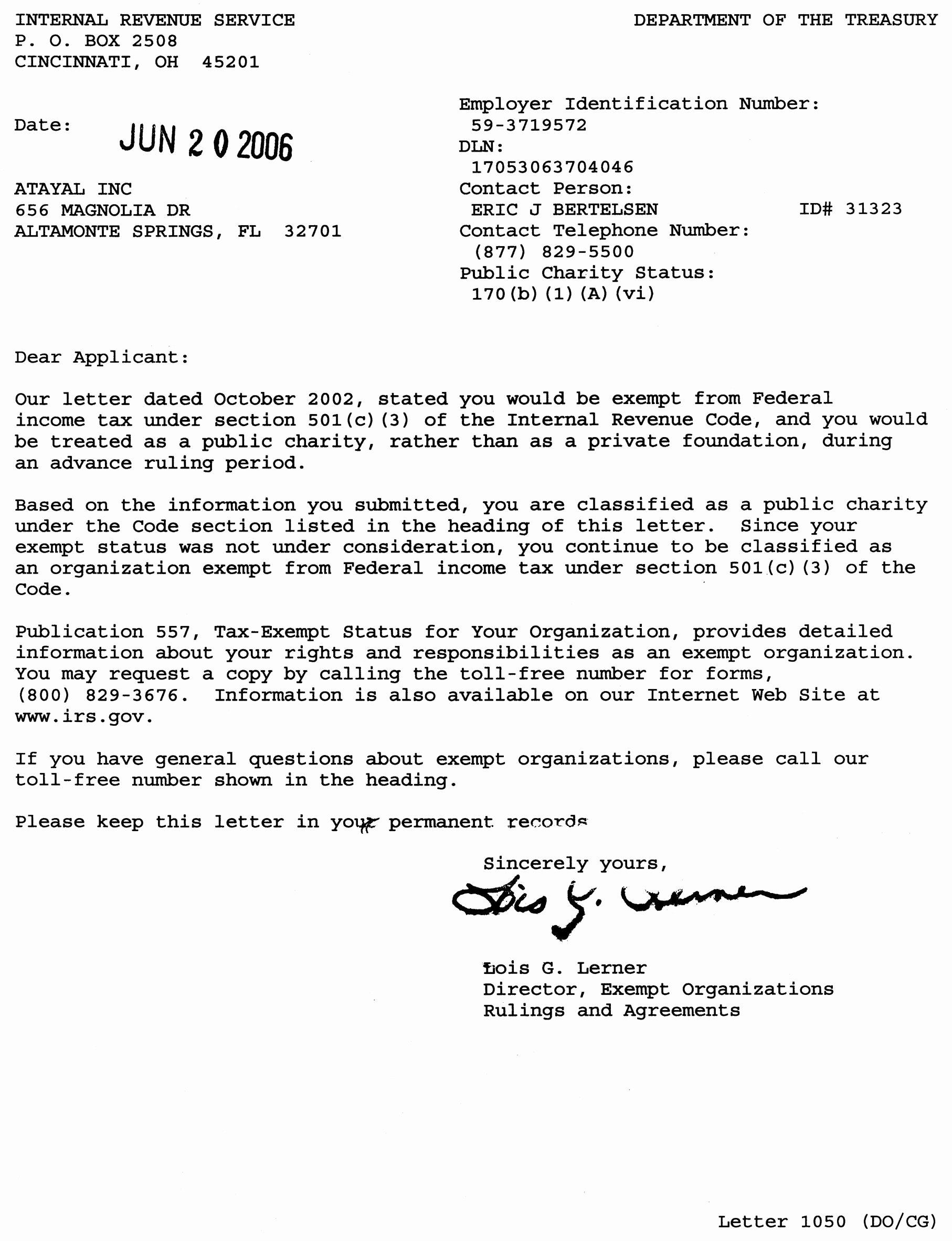 Non Profit Donation Receipt Template Elegant Non Profit Tax Deduction Letter Template Collection