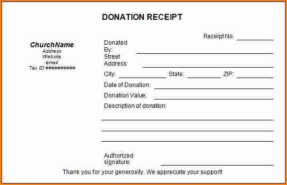 Non Profit Donation Receipt Template Inspirational 7 501c3 Donation Receipt Template