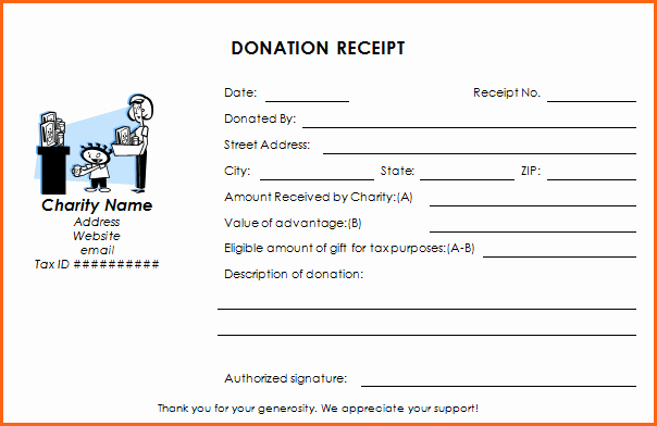 Non Profit Receipt Template Fresh Ultimate Guide to the Donation Receipt 7 Must Haves & 6
