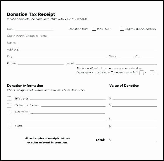 Non Profit Receipt Template New Donation Receipt Templates Letters Goodwill Non Profit