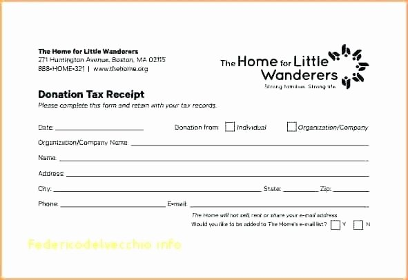Nonprofit Donation Receipt Template Luxury 10 Nonprofit Donation Receipt Template
