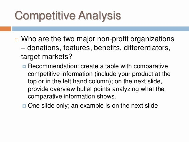 Nonprofit Marketing Plan Template Awesome Buss 424 Marketing Plan Non Profit Marketing Plan Template 2