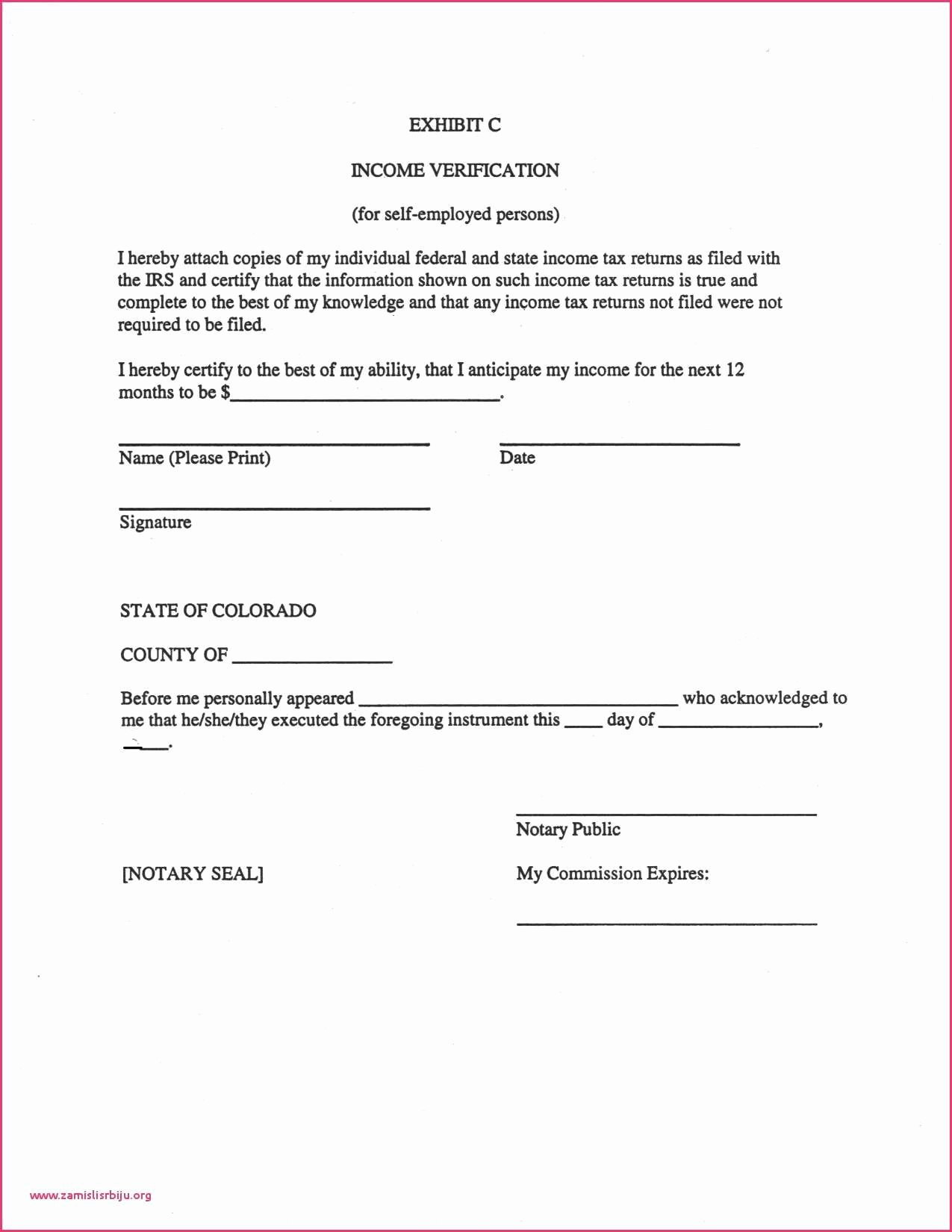 Notarized Letter format Pdf Best Of Employment Verification Letter Sample Pdf Notarized