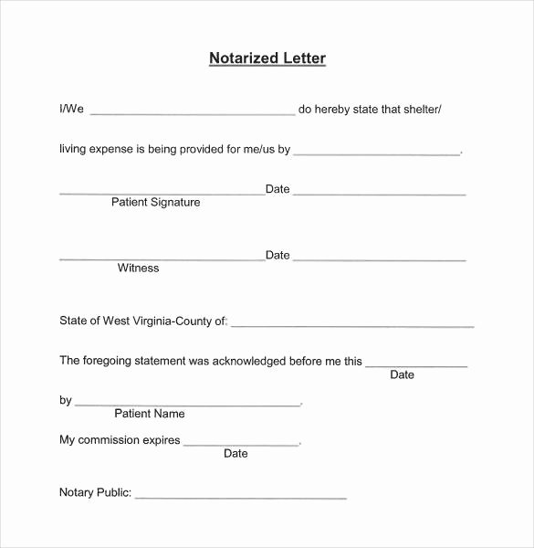 Notarized Letter format Pdf Best Of Notary Letter 7 Stereotypes About Notary Letter that aren T