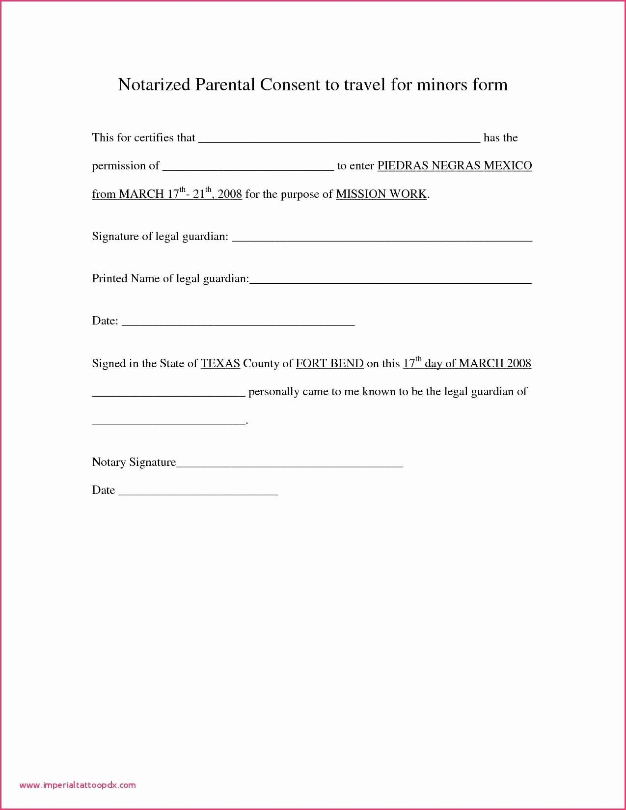 Notarized Letter format Pdf Luxury Permission Letter format In Pdf Notarized Letter format
