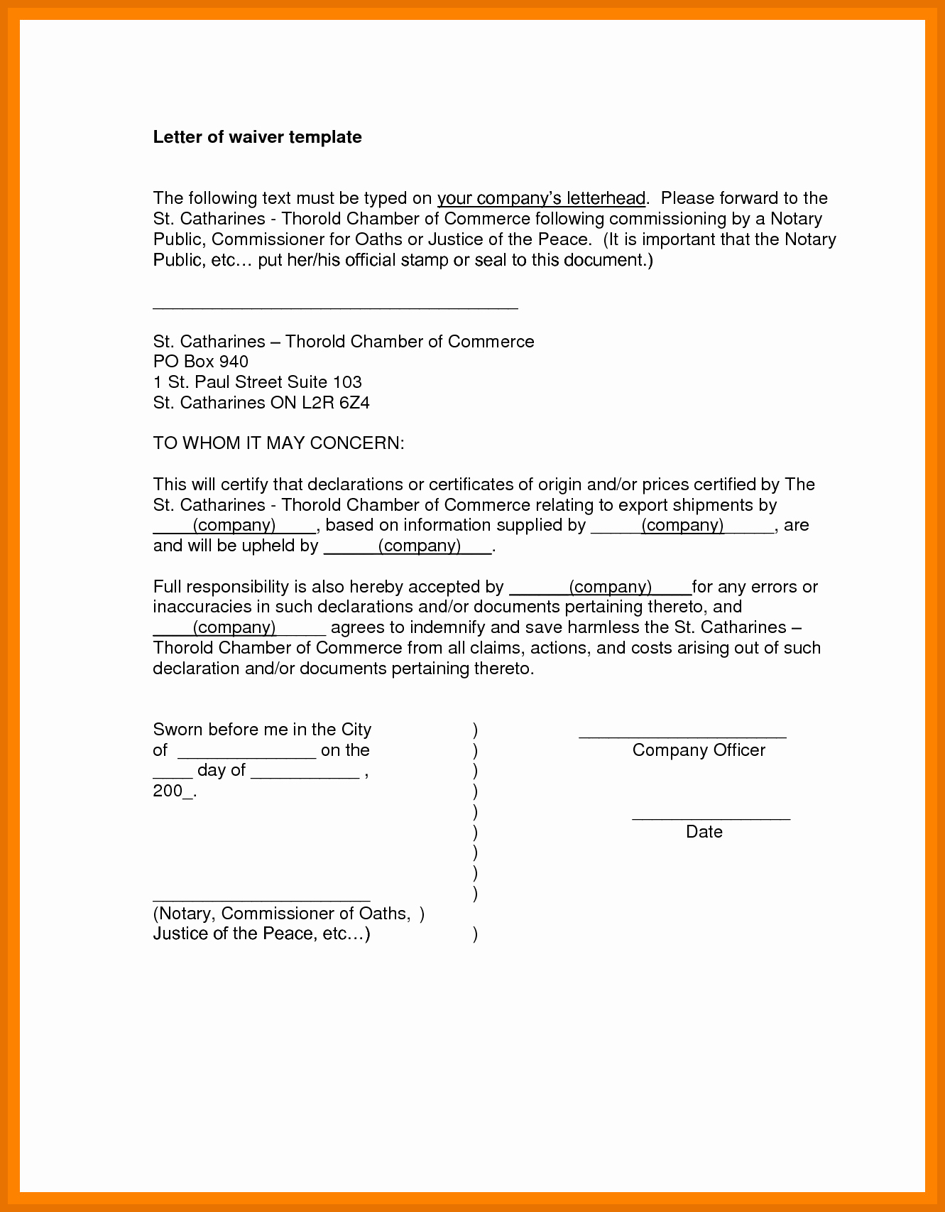 Notary Public Letter format Best Of 10 11 Notary Examples