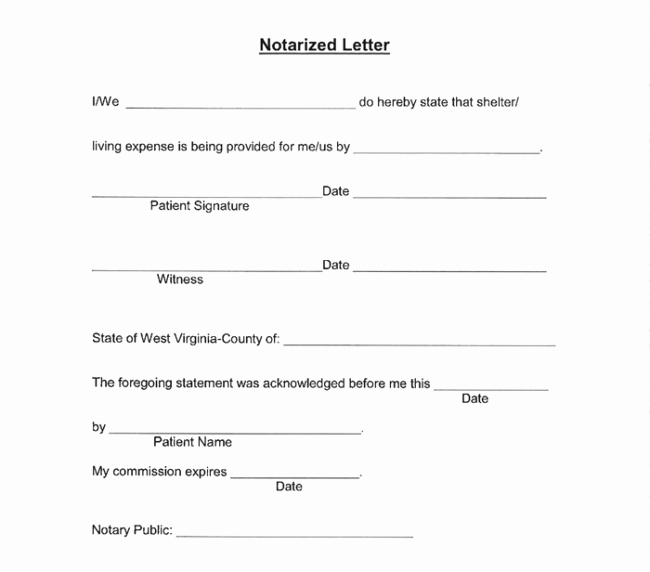 Notary Public Letter format Elegant 25 Notarized Letter Templates & Samples Writing Guidelines