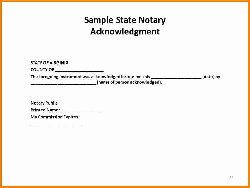 Notary Public Letter format Elegant How to Notarize A Letter