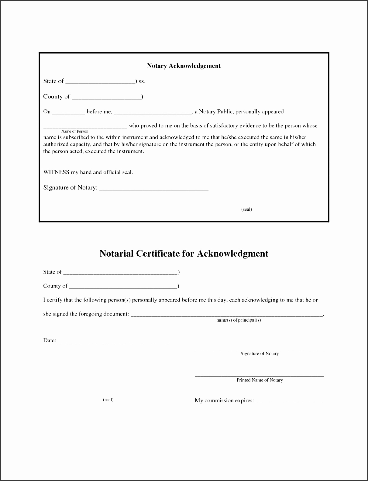 Notary Public Letter format New 6 Affidavit form Sample Ms Word Sampletemplatess
