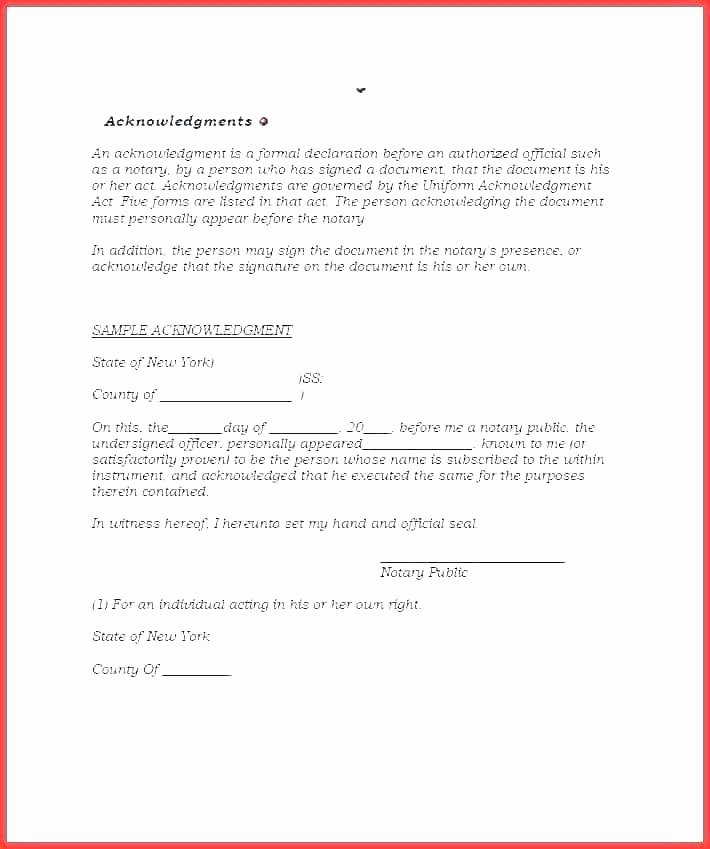 Notary Public Letter format New Notary form Template