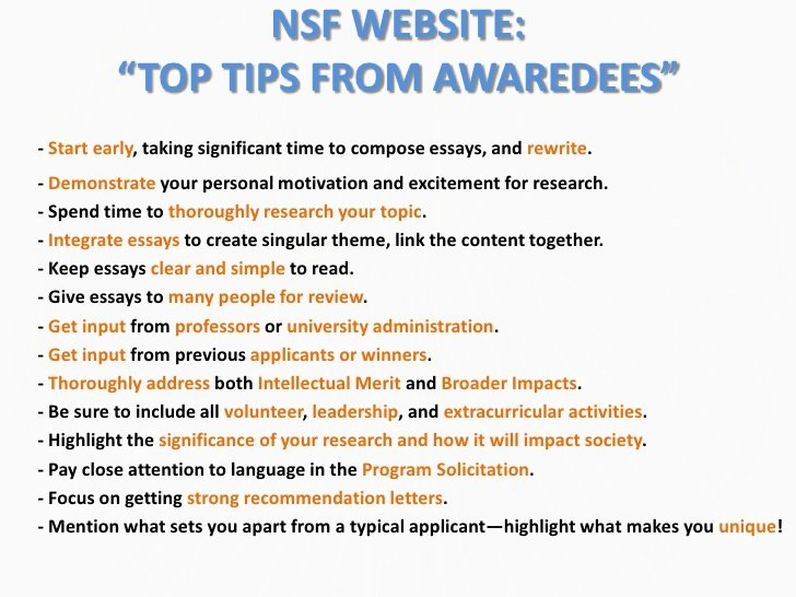 Nsf Grfp Letter Of Recommendation Best Of Presentation 2 Ting Started