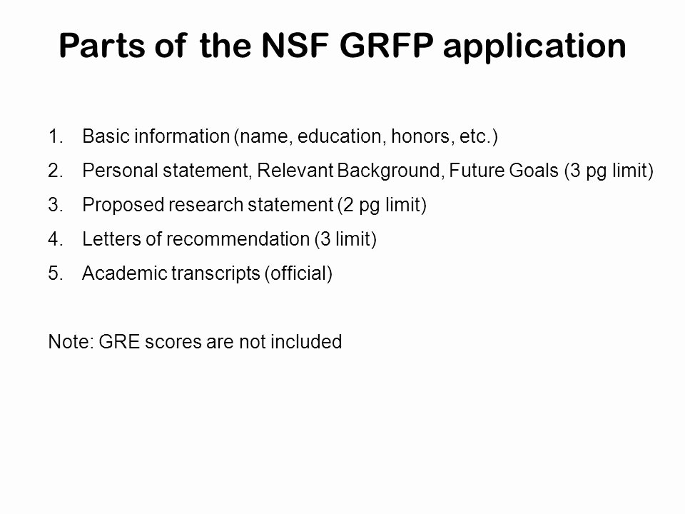 Nsf Grfp Letter Of Recommendation Lovely the Nsf Graduate Research Fellowship Program