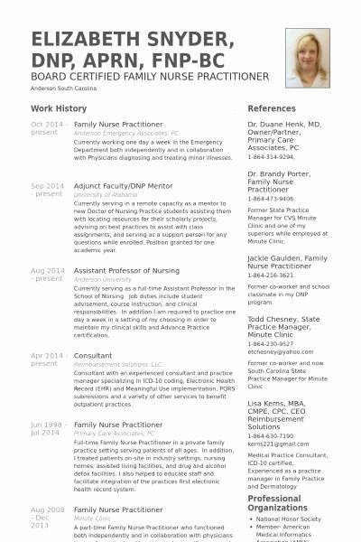 Nurse Practitioner Letter Of Recommendation Best Of Family Nurse Practitioner Resume Example