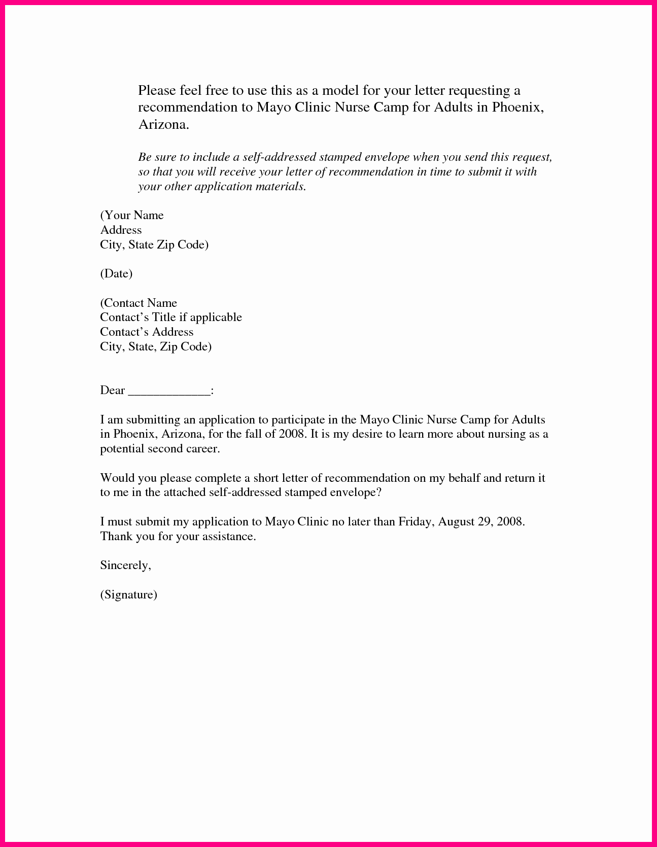 Nurse Practitioner Letter Of Recommendation Inspirational 20 Of Nurse Practitioner Re Mendation Letter