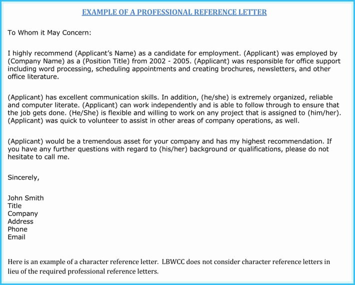 Nursing Recommendation Letter Sample Luxury Nursing Reference Re Mendation Letters 9 Sample Letters