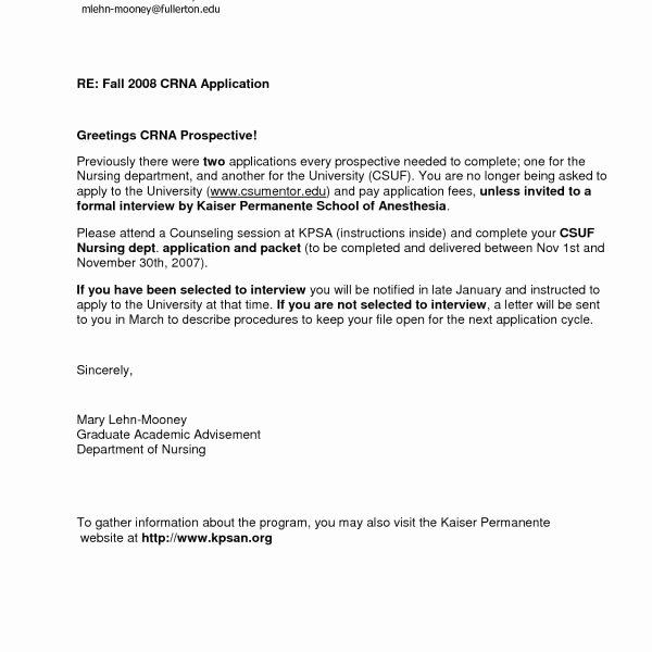 Nursing School Recommendation Letter Unique Nursing School Re Mendation Letter – forteforic