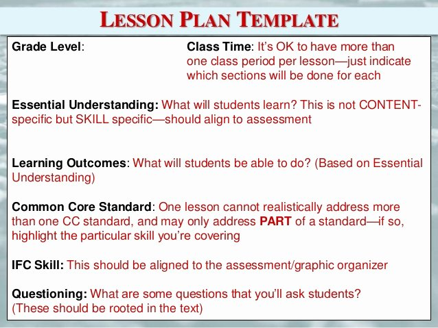 Nyc Doe Lesson Plan Template Luxury Empire State Information Fluency Continuum Refresh and