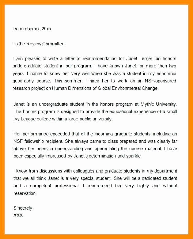 Nyu Letter Of Recommendation Lovely Graduate Programs No Letters Re Mendation Letter