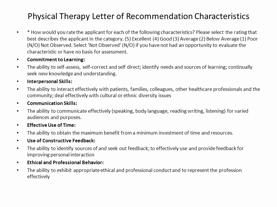 Occupational therapy Letter Of Recommendation Lovely First Day Of Class Anatomy Bio Ppt
