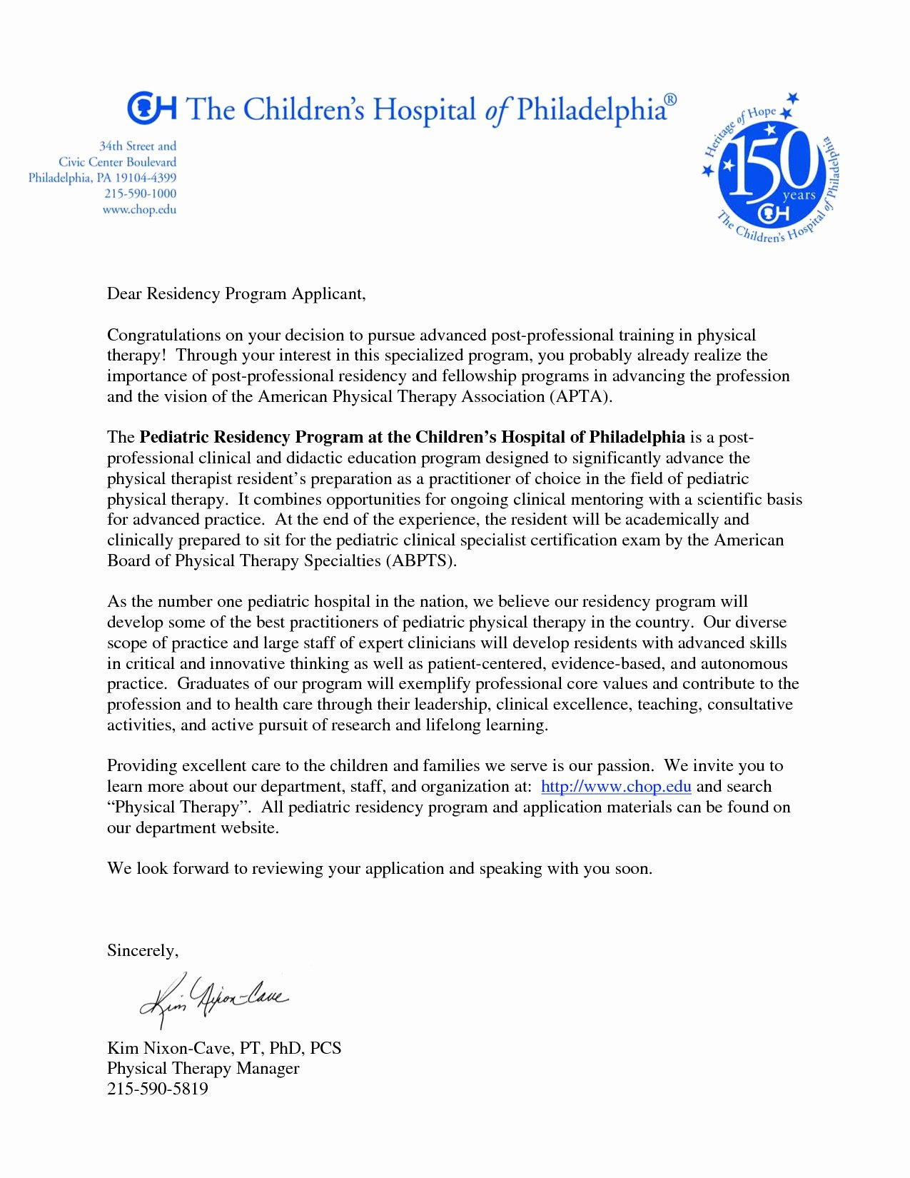 Occupational therapy Letter Of Recommendation Luxury Letter Re Mendation for Physical therapy School
