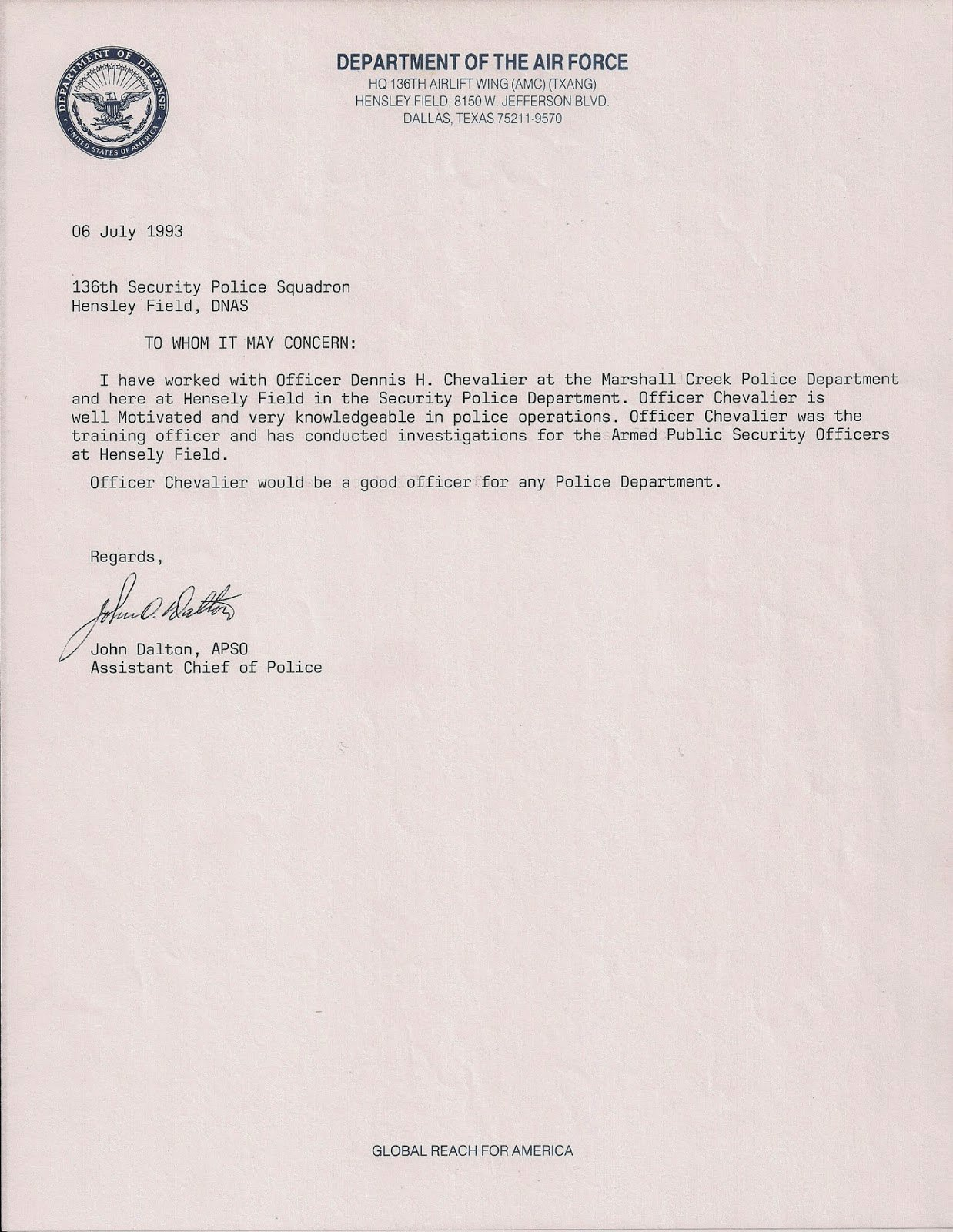 Ocs Letter Of Recommendation Inspirational Dennis Chevalier Evidence Site I Am Dealing with Mental