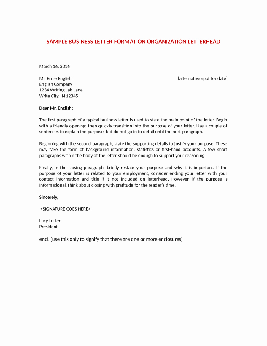 Official Letter format to Government Fresh 2019 Ficial Letter format Fillable Printable Pdf