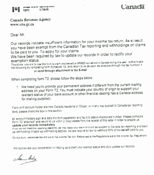 Official Letter format to Government Unique Government Letter Scam Tar Ing Canadians – Slaw