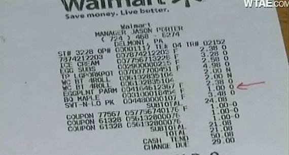 Online Walmart Receipt Maker Awesome Woman Wins 2 Cent Discrepancy Case Against Wal Mart [video]