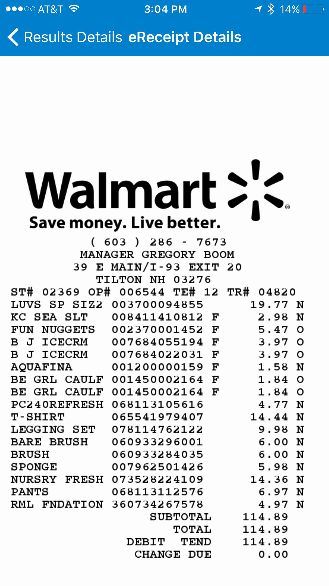 Online Walmart Receipt Maker Beautiful Walmart Receipt Generator