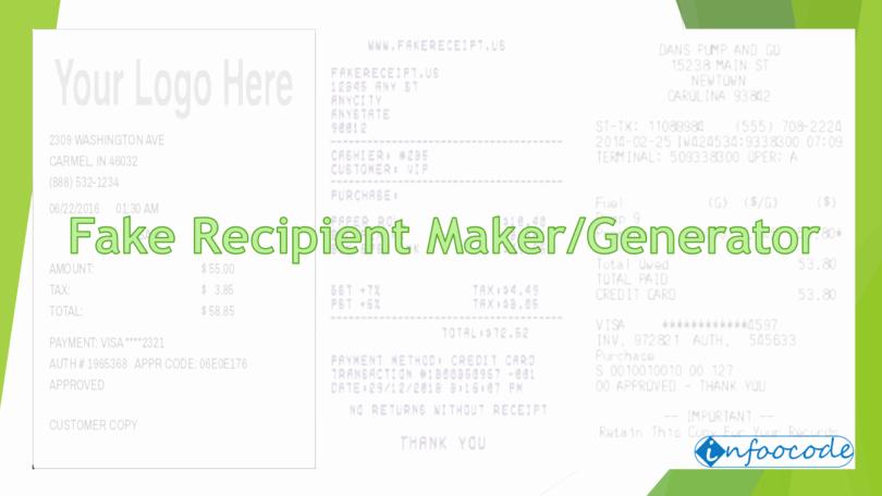 Online Walmart Receipt Maker Luxury Fake Receipt Creator thevillas
