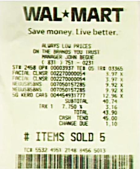 Online Walmart Receipt Maker Luxury Walmart Receipt Generator