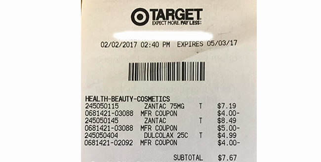 Online Walmart Receipt Maker Unique Tar $3 Money Maker Couponmom Blog