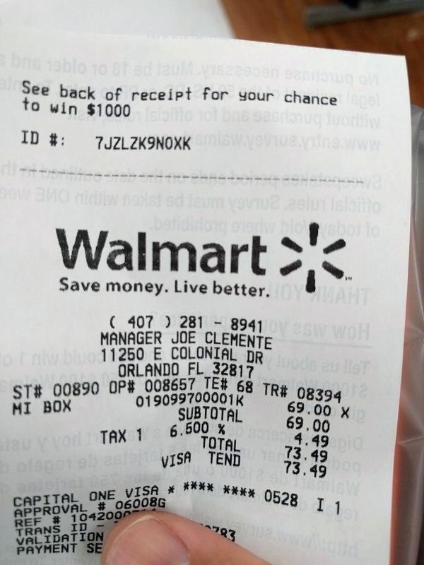 Online Walmart Receipt Maker Unique Walmart Receipt Tax Codes Receipt Codes App Receipt Lookup