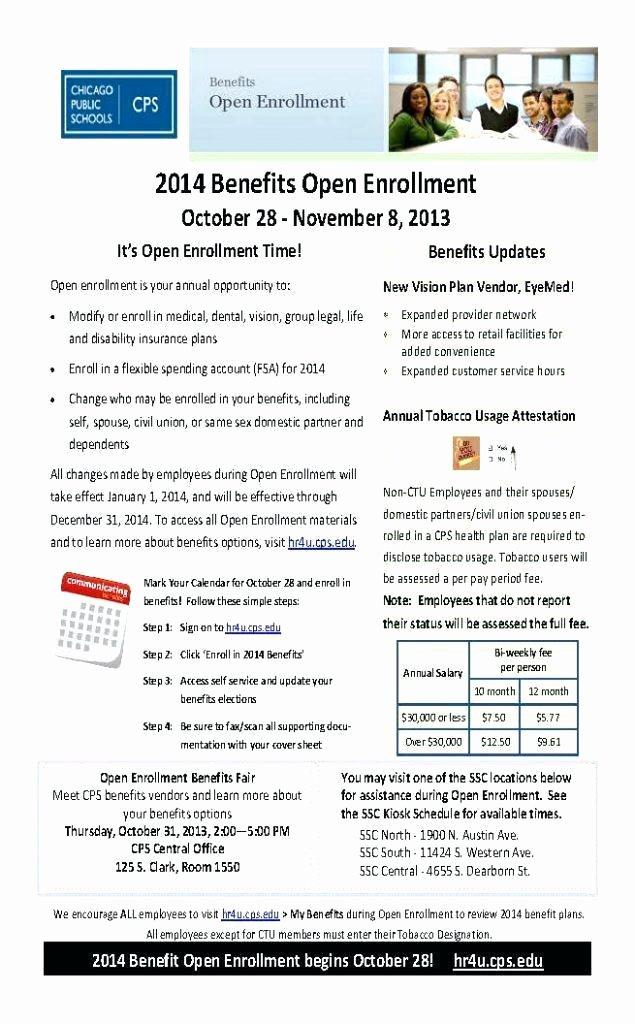 Open Enrollment Announcement Letter Luxury 401k Open Enrollment Letter