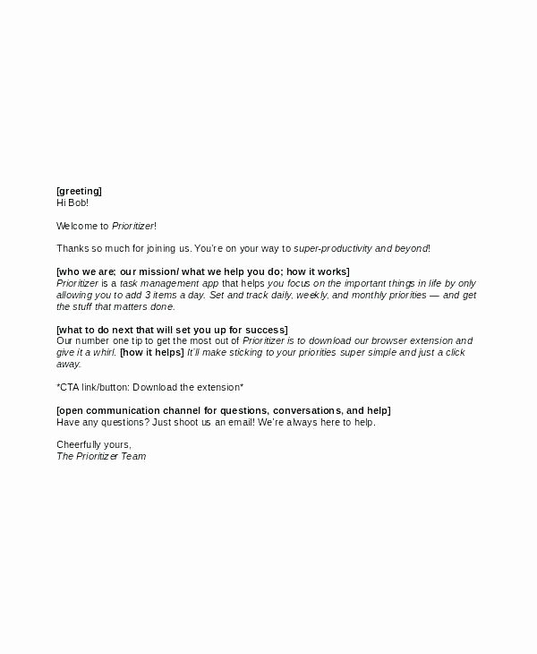 Open Enrollment Announcement Letter New Wel E Email Template for New Employee New Hire