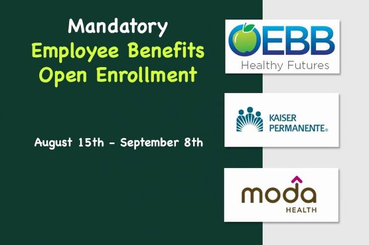 Open Enrollment Letter to Employees Fresh Employee Benefits Open Enrollment David Douglas School