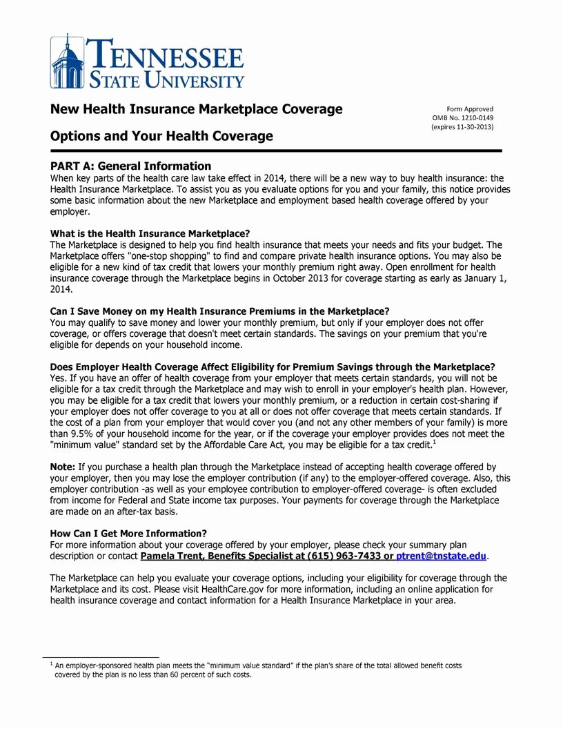 Open Enrollment Letter to Employees New 9 Best Of Health Insurance Open Enrollment Notice