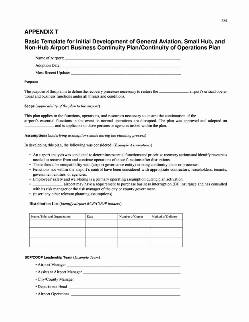 Operation and Maintenance Plan Template Beautiful 007 Plan Template Operations Excel Tinypetition