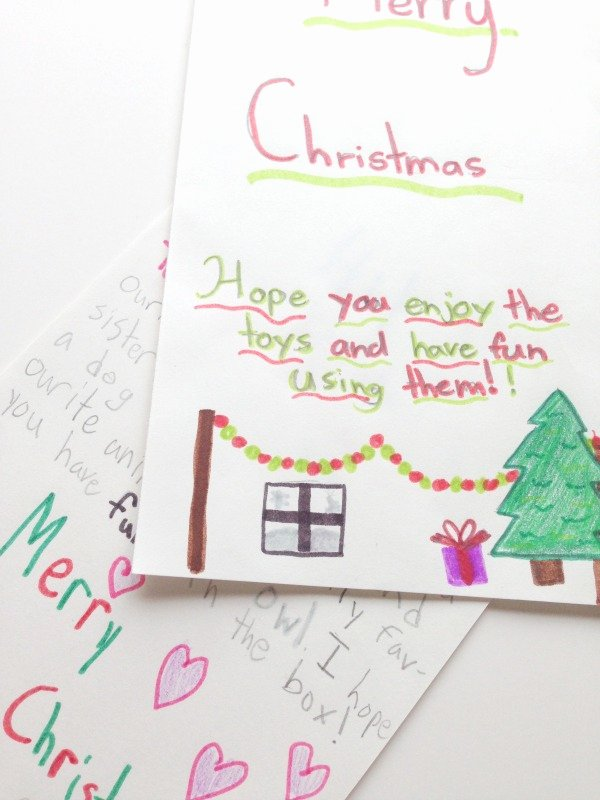 Operation Christmas Child Letter Samples Elegant Kitchen Counter Chronicles