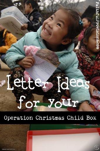 Operation Christmas Child Letter Samples Lovely Letters for Your Operation Christmas Child Shoebox