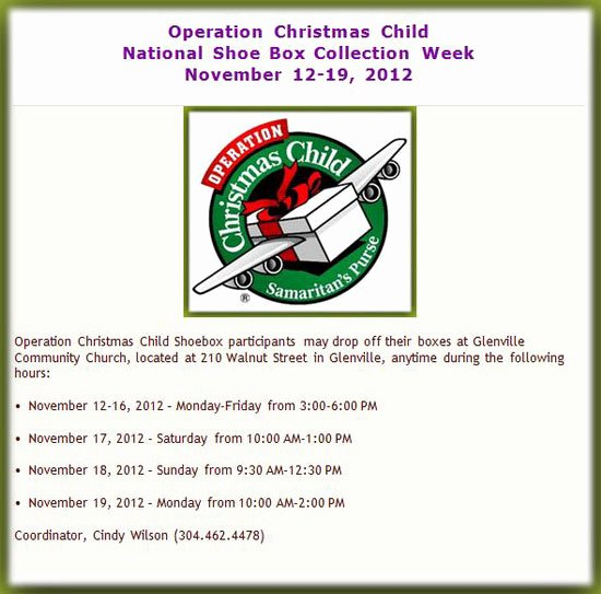 Operation Christmas Child Letter Samples Luxury Free Press Wv
