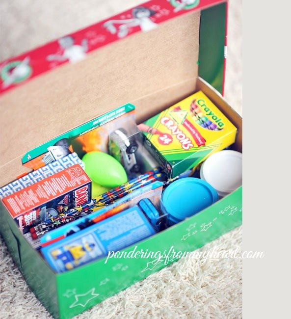 Operation Christmas Child Letter Template Awesome Christmas Shoebox Project