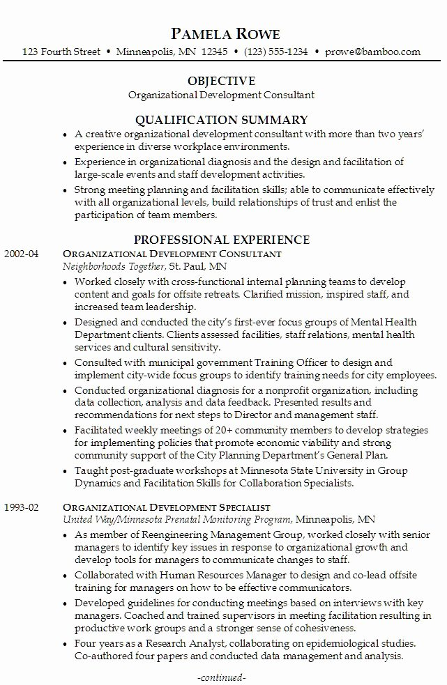 Organizational Development Cover Letter Awesome Job Resume Volunteer Experience Umecareer