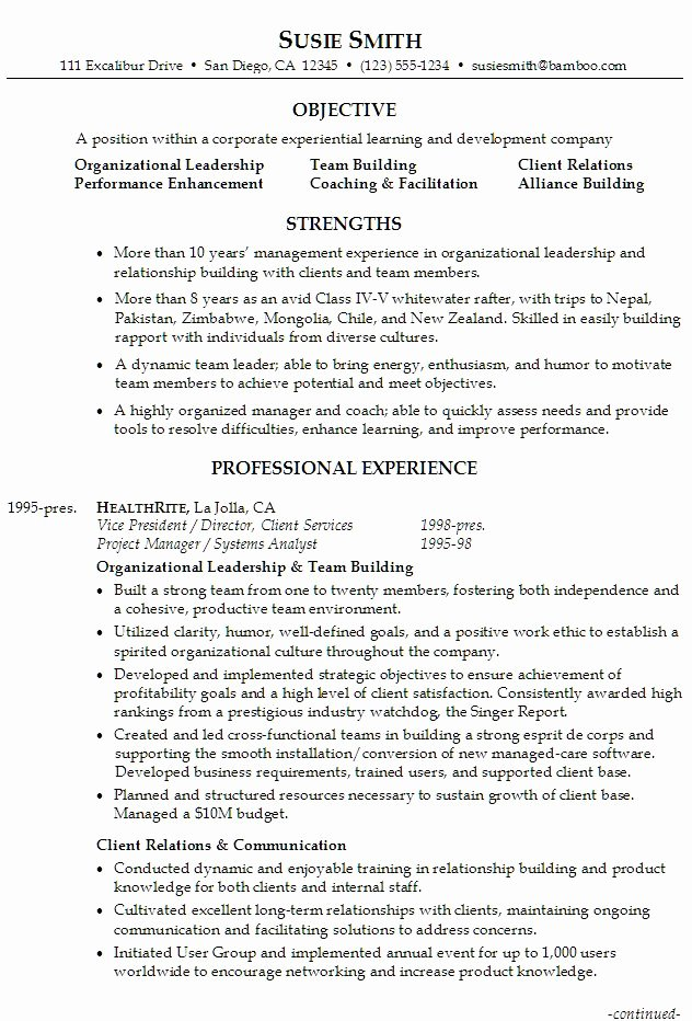 Organizational Development Cover Letter Best Of Sample Resume for someone Seeking A Job In Executive
