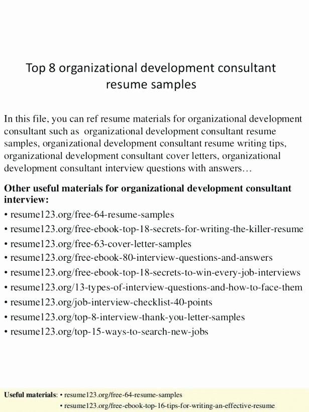 Organizational Development Cover Letter Fresh Janetward Template Designs