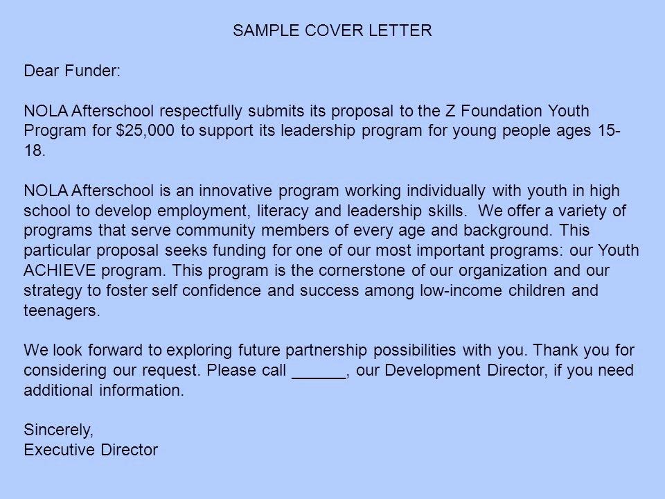 Organizational Development Cover Letter Luxury Strategies for Better Grantwriting Dara M Lum J D Ppt