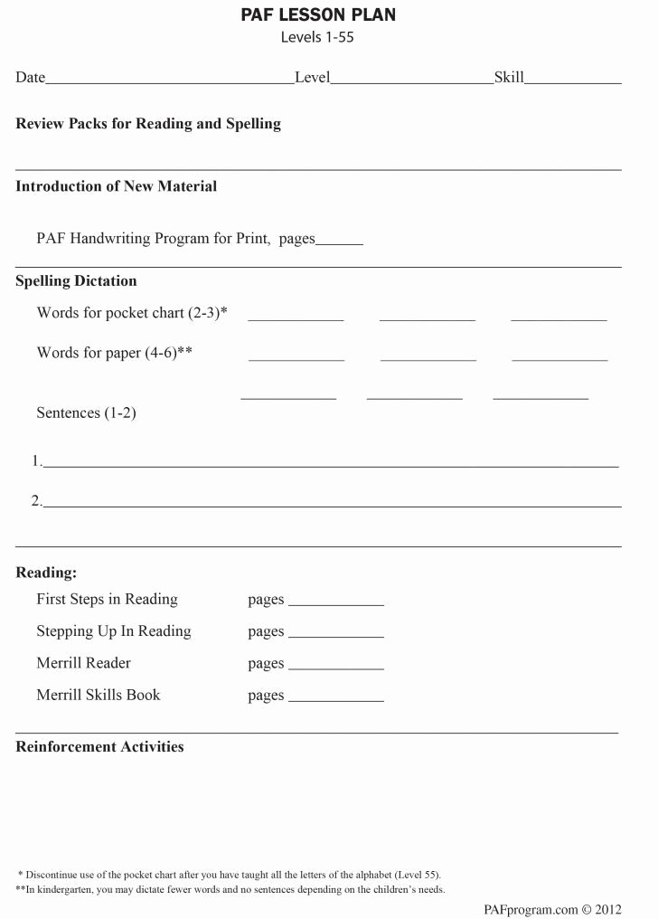 Orton Gillingham Lesson Plan Template Awesome orton Gillingham Lesson Plan Template Free – orton